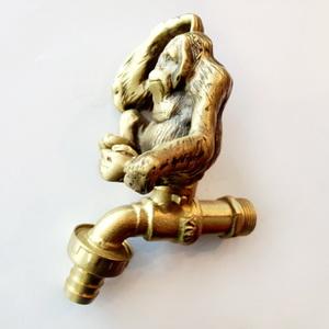 ก๊อกน้ำทองเหลือง รูปลิงกอลิล่า